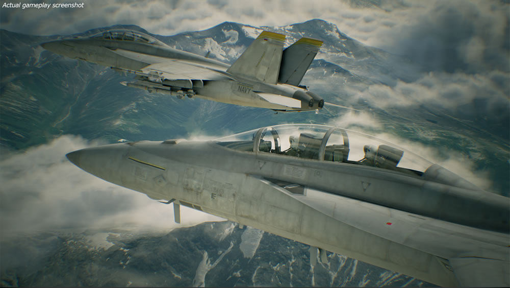 Ace Combat 7 Skies Unknown - Screenshot 1