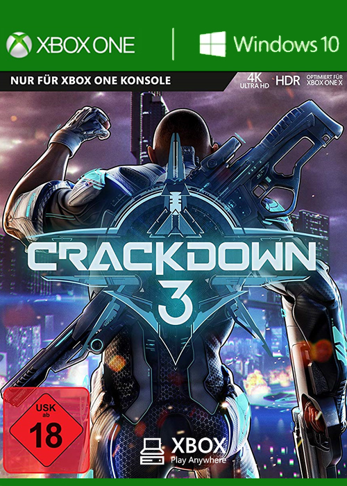 Crackdown 3 Xbox One Windows 10