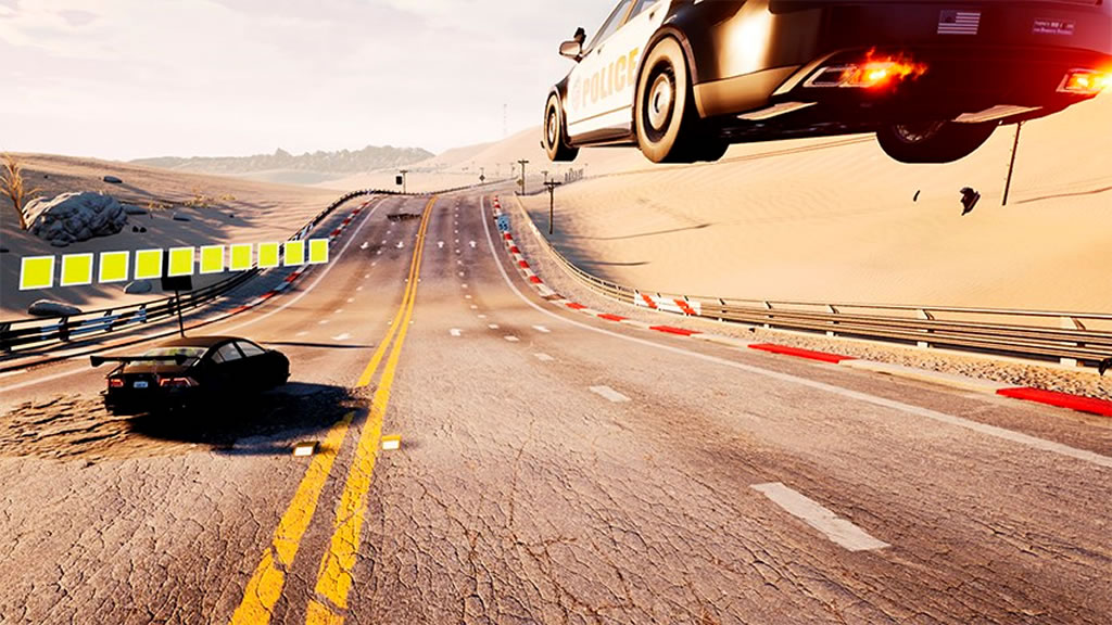 Dangerous Driving - Screenshot 1