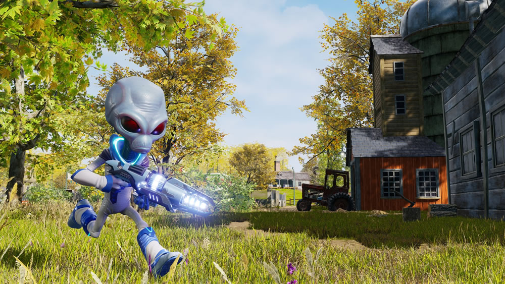 Destroy all Humans - Screenshot 1