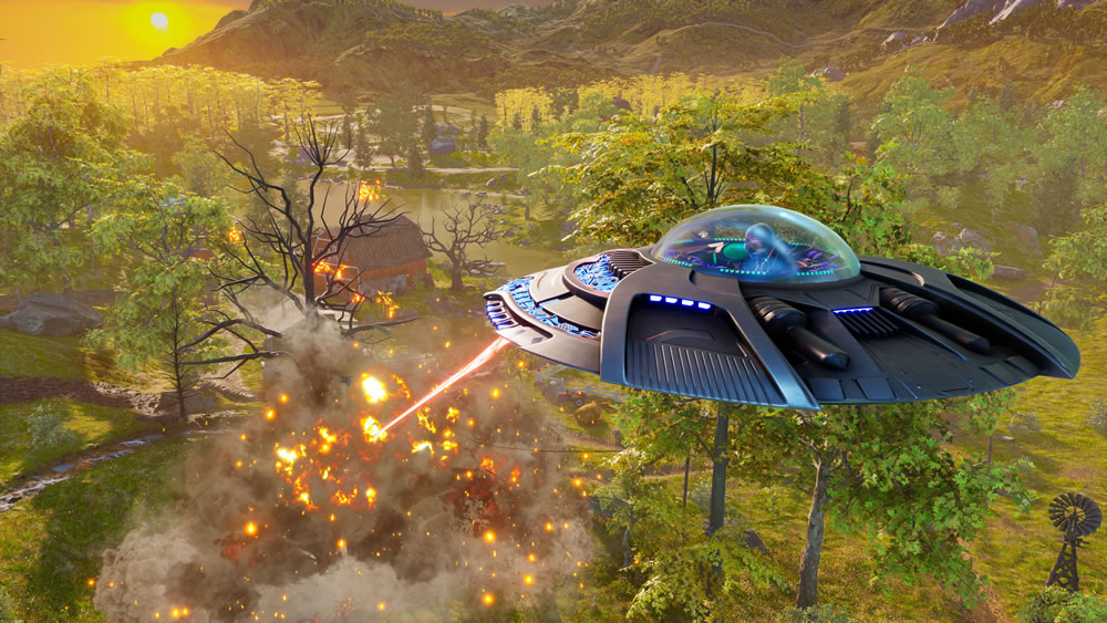 Destroy all Humans - Screenshot 2
