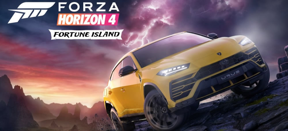 Forza Horizon 4 Xbox One Windows 10 Fortune Island