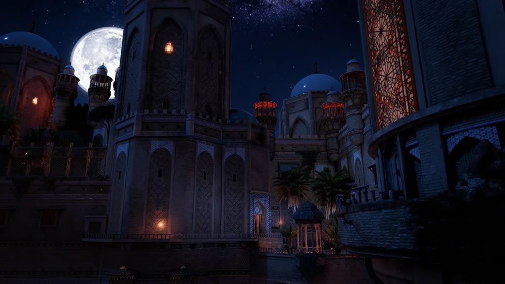 Prince of Persia The Sands of Time Remake - Screenshot 2