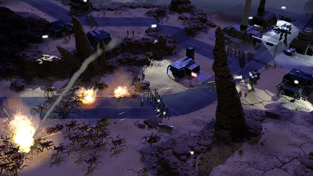 Starship Troopers Terran Command - Screenshot 2