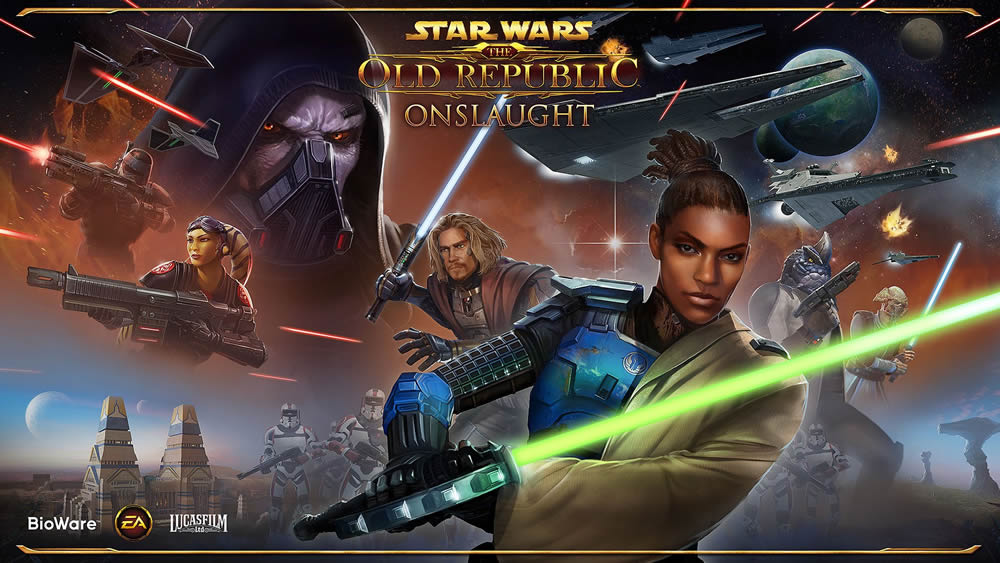 Star WarThe Old Republic SWTOR Onslaught